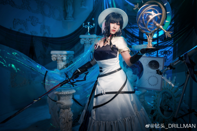 [COS]明日方舟   星极〔寻耀〕   @雏蛋-女生cosplay去衣服图片   (摄影:@钻头_DRILLMAN) (9P) –插图