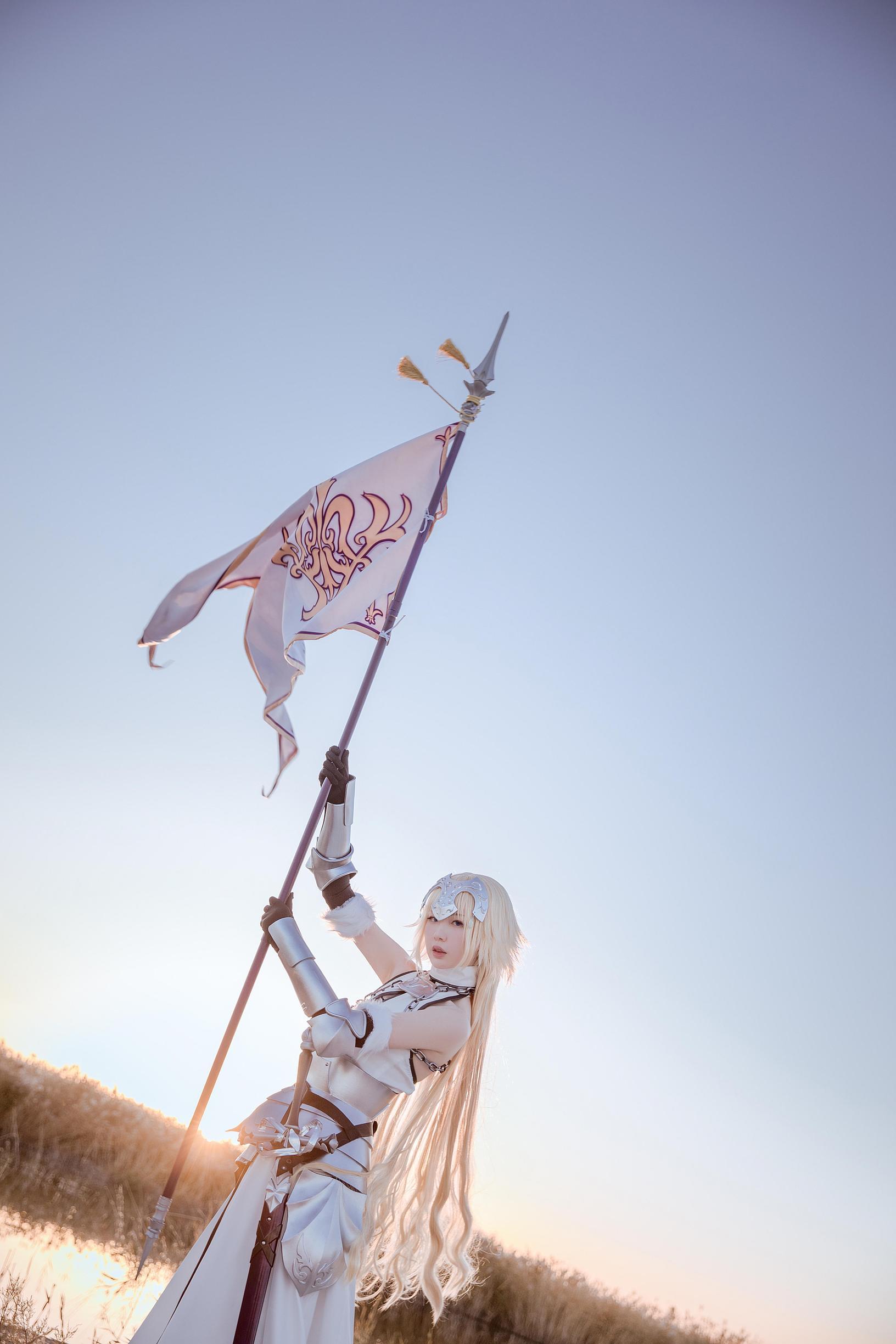 《FATE/GRAND ORDER》贞德cosplay【CN:茶茶子cya】-第2张