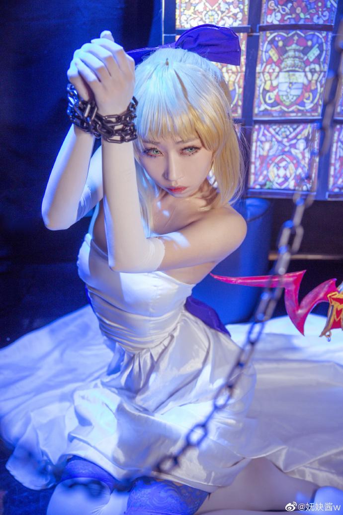 Fate/staynight   阿尔托莉雅·潘德拉贡  @妩妜酱w (9P)-第7张