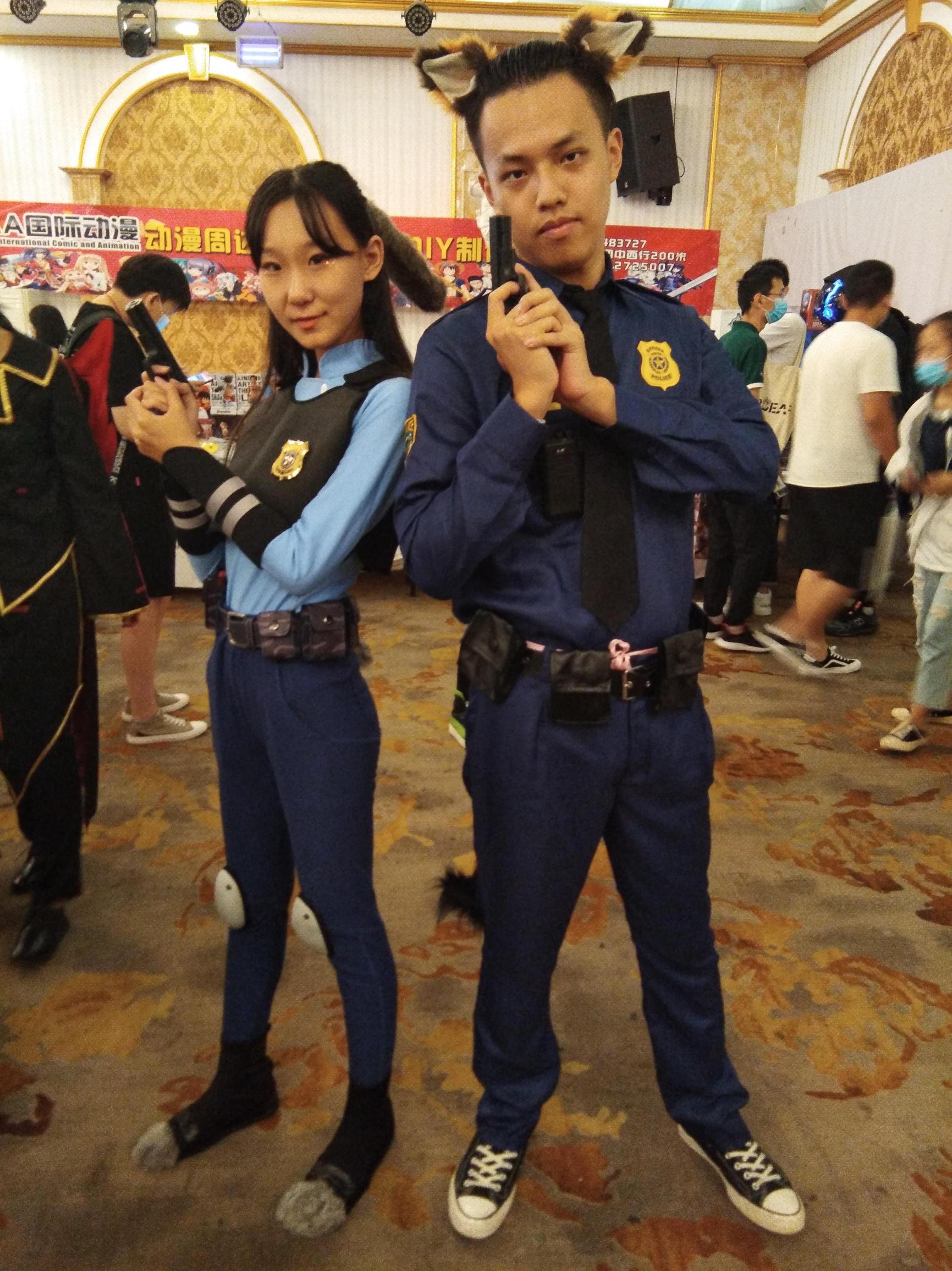 《凹凸世界》王者荣耀cosplay【CN:是慕容雅儿呀】 -熊爷cosplay图片插图