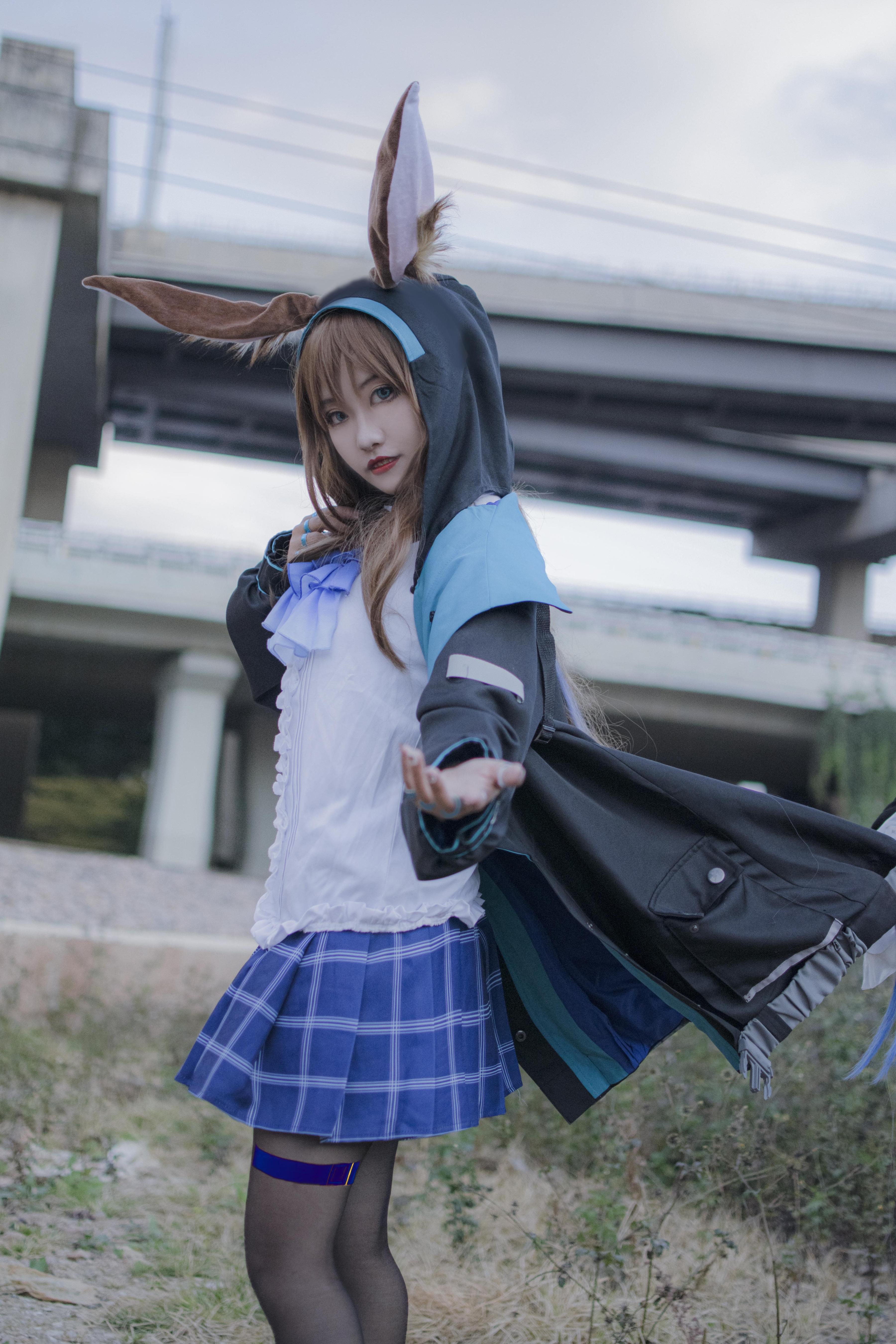 《明日方舟》明日方舟阿米娅cosplay【CN:_顾衍】-第2张