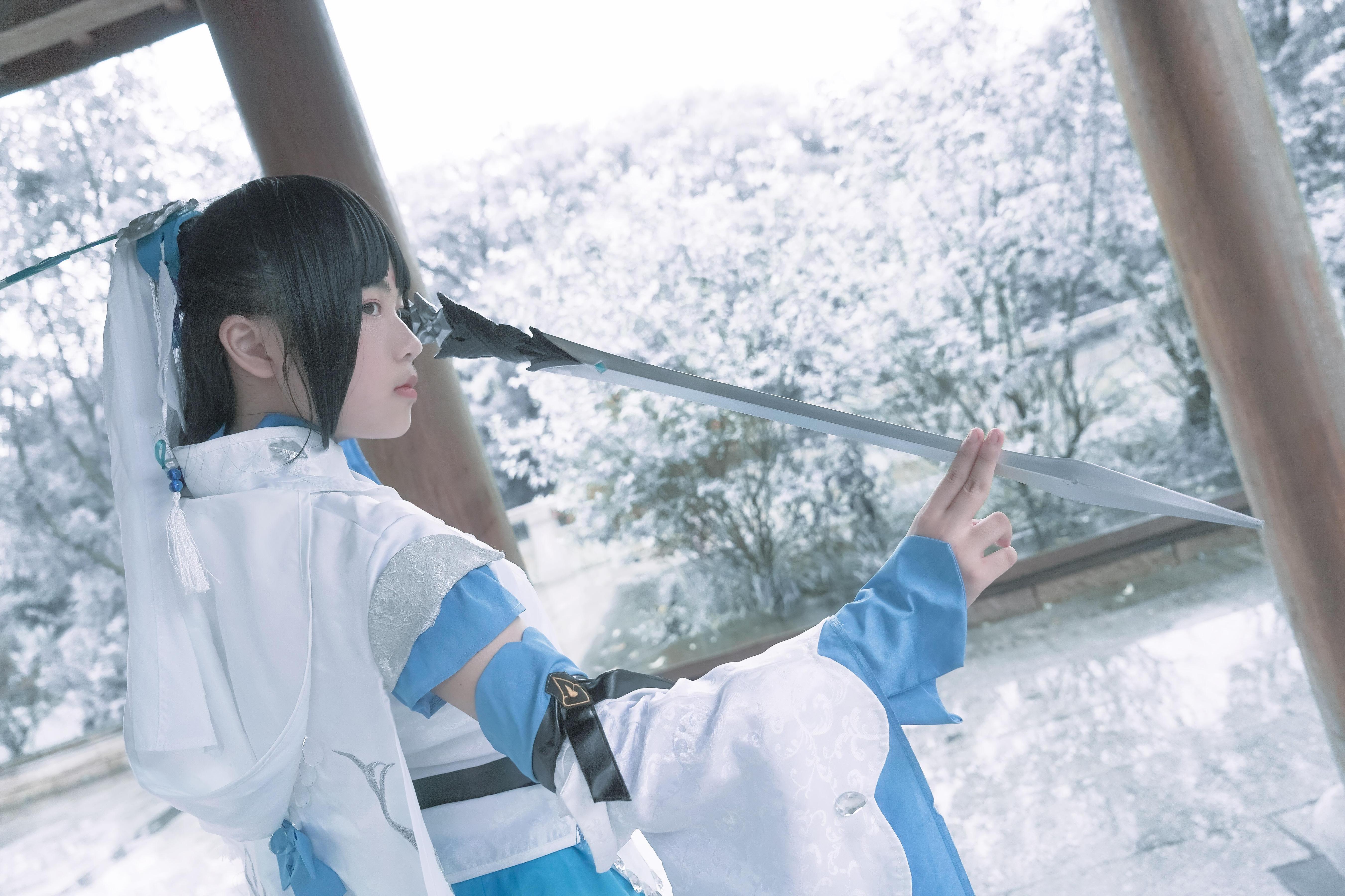 《剑侠情缘网络版叁》剑三cosplay【CN:-木兮-】-第10张