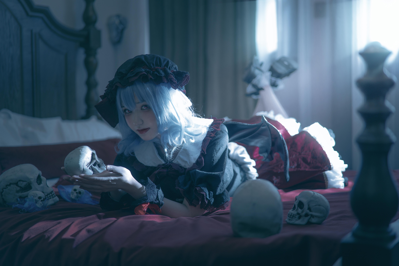《东方PROJECT》蕾米莉亚cosplay【CN:我是谁你不想知道】-第5张