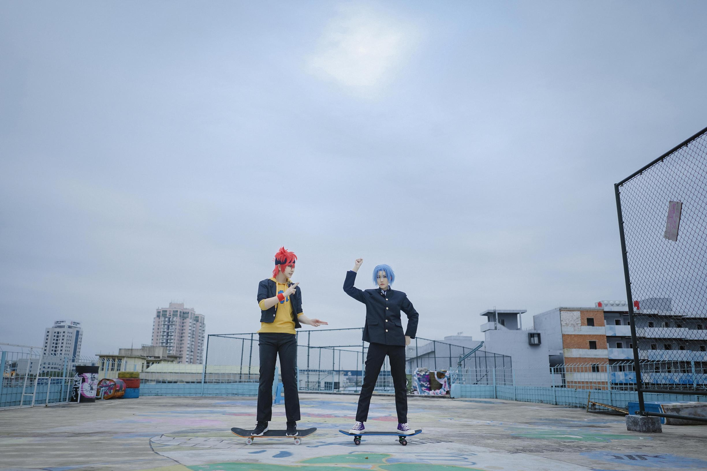 《无限滑板》仿妆cosplay【CN:二琪日常掉新坑】-第5张