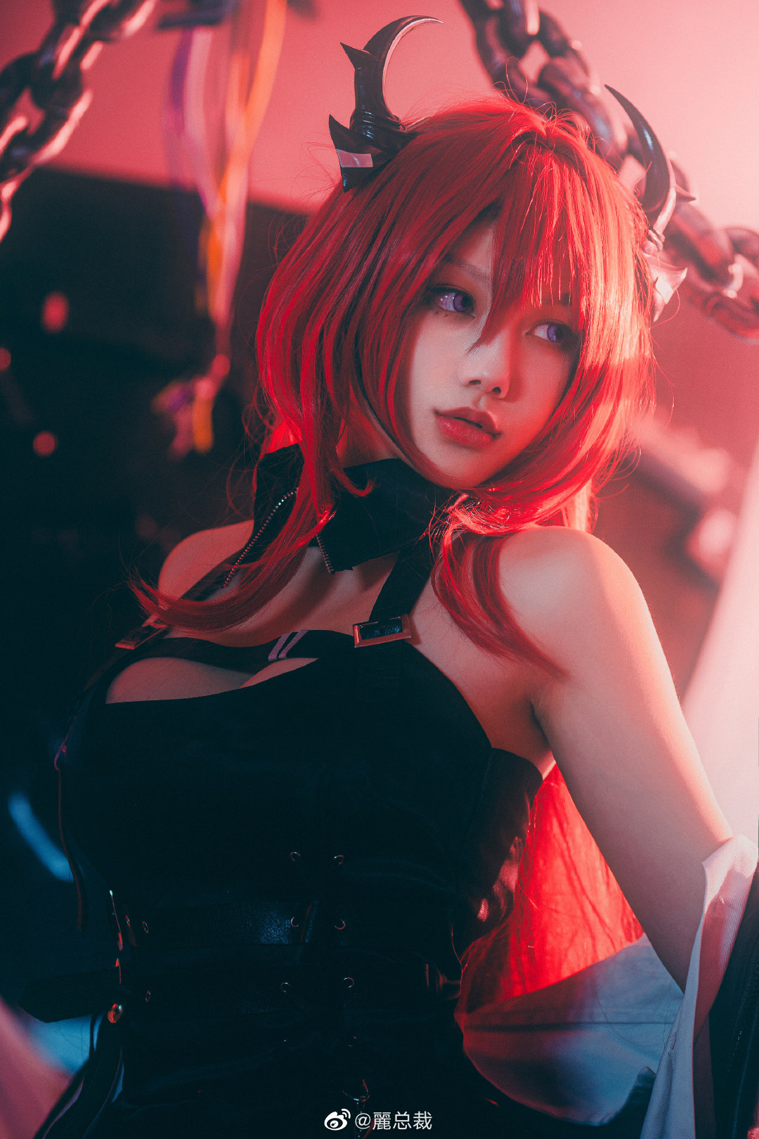 [COS]明日方舟   史尔特尔   @丽总裁 (9P) -王者cosplay美女图片插图