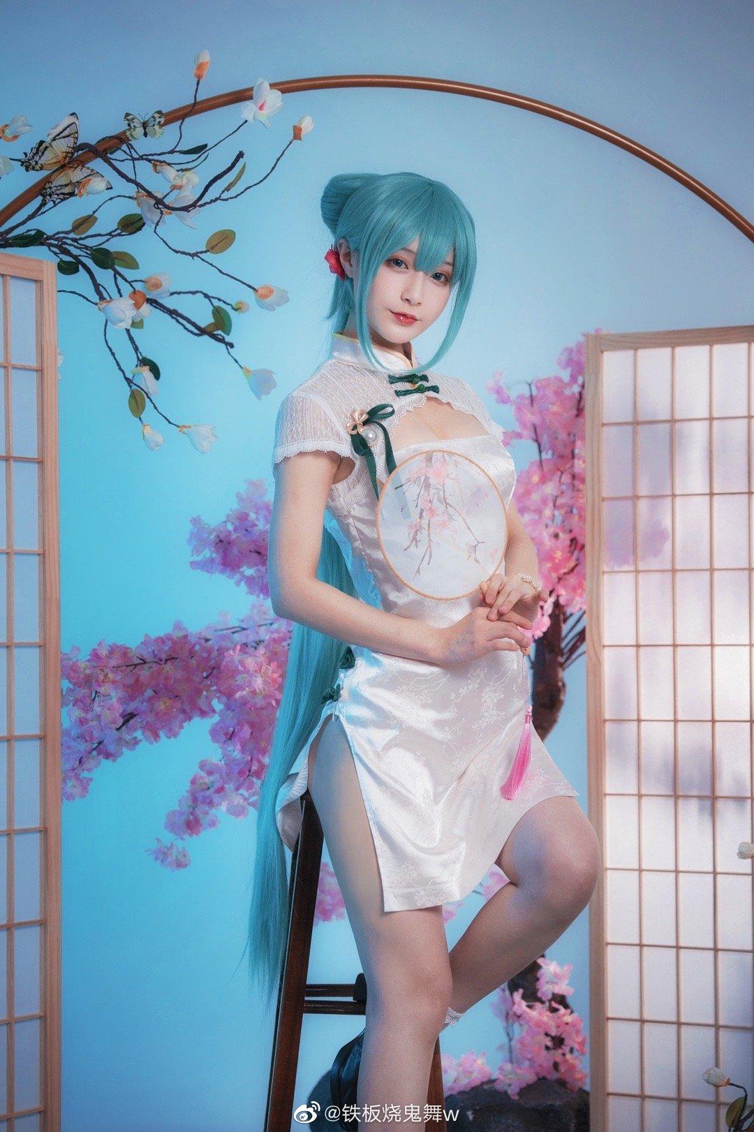 [COS]初音未来   韶华   @铁板烧鬼舞w (9P) -cosplay图片素材免费下载插图