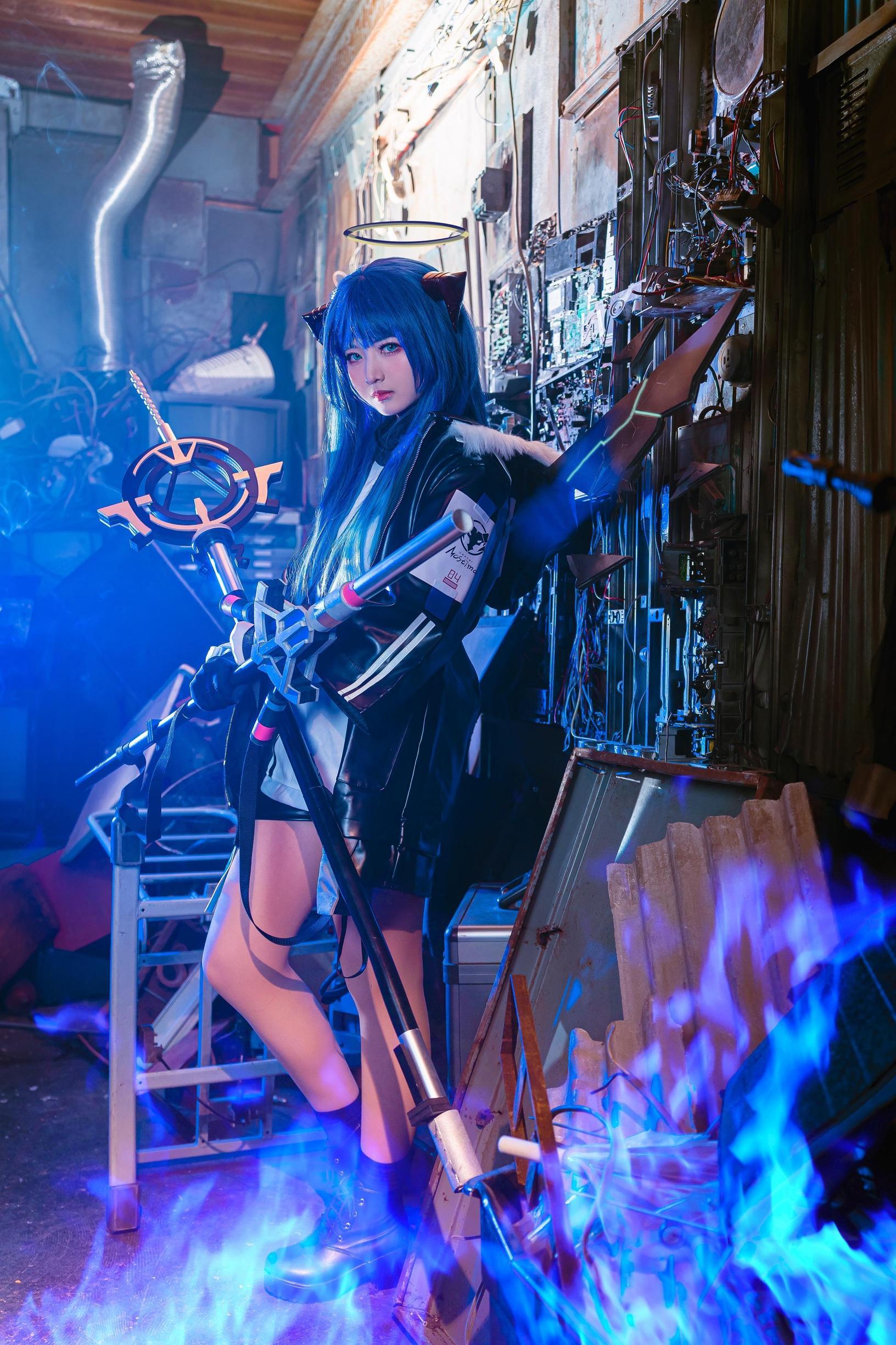 《明日方舟》正片cosplay【CN:roka様】-第10张