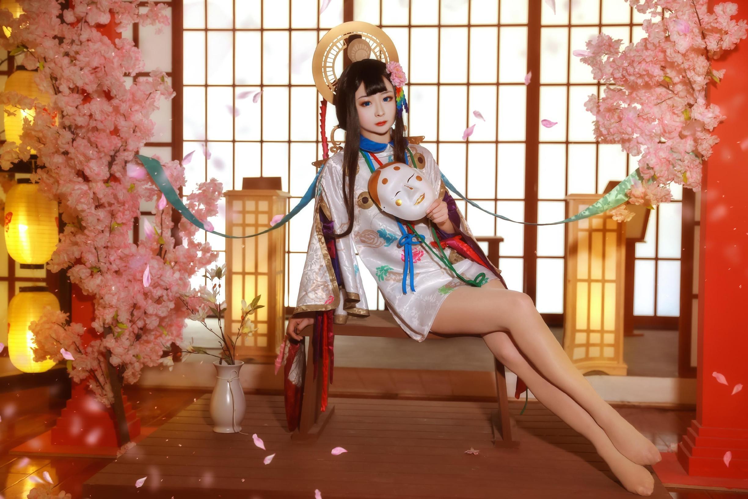 《阴阳师手游》游戏cosplay【CN:陞靥】 -涂山苏苏cosplay图片插图